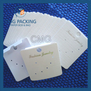Wholesale Paper Earring Neckalce Display Card Customized pictures & photos