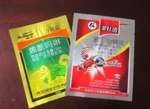 Customized Printing Heat Seal Pesticide Packaging Bag Difenoconazole Bags pictures & photos