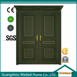 Customized Hollow Core Door with New Design (WDH62) pictures & photos