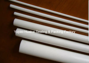 100% Pure PTFE/Teflon Chemical Corrosion Resistance Extruded Round Rod
