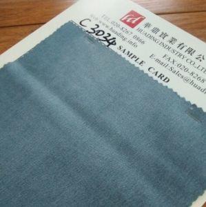 Light Blue Twill Denim Fabric (C3034) pictures & photos