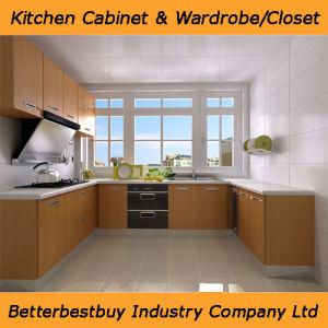 Melamine Finishing Kitchen Cabinet pictures & photos
