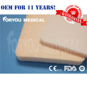 Silicone Border Foam Wound Dressing Sacral Wound pictures & photos