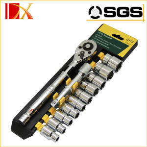 "1/2""Dr 20PCS Chrome Vanadium Socket Wrench pictures & photos"