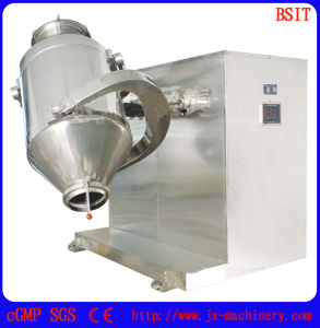 High Quality 2 Dimension SUS304 Mixer Blending Machine with Meet GMP Standards pictures & photos