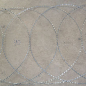 2.2 mm Galvanized Razor Barbed Wire pictures & photos