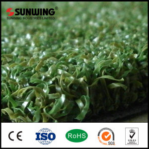 Garden Landscaping Plastic Artificial Grass Rubber Mat pictures & photos