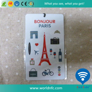 High Quality Credit Card Size Non-Standard Plastic PVC Baggage Card pictures & photos