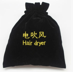 Hot Sale Hotel Hair Dryer Bag / embroidery Logo Fabric Bag pictures & photos