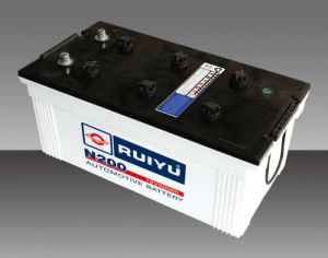 Dry Charged Heavy Duty Truck Battery N200 12V200ah pictures & photos