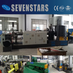 High Output Two-Stage Side Force Feeder Pelletizing Machine pictures & photos