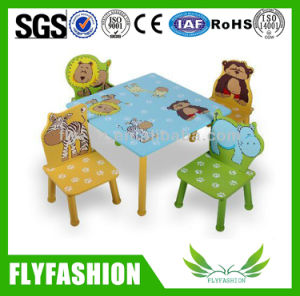 Children Furniture Wooden Study Table and Chair (SF-21C) pictures & photos