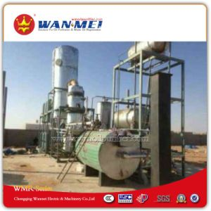 Waste Oil Recycling Equipment with Vacuum Distillation to Basic Oil and Diesel Oil