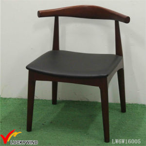 Indoor Antique Rustic Retro Backrest Wood Chair pictures & photos
