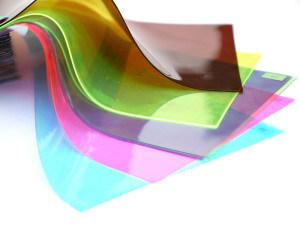 Colorful PVC Rigid Transparent with Plastic Film pictures & photos
