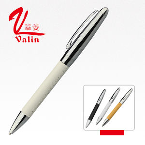 High Quality Cheap Price Wholesale Git Pen Promotional Leather Pen on Sell pictures & photos