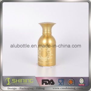 Empty New Aluminum Powder Bottle with Sifter Top pictures & photos