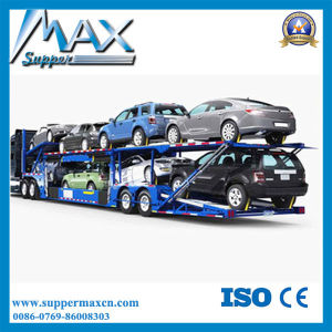 2016 Top Ranking Small Car Trailer/ Car Towing Trailer/ SUV Semi Trailer Load 4-8 Cars for Sale pictures & photos