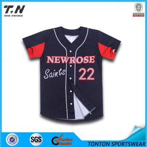 2015 New Arrival Cheap Wholesale Plain Baseball Jerseys pictures & photos