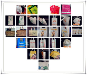 Multi-Function Non Woven Bag Making Machine with Online Handle Attach pictures & photos