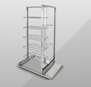 Top Metal Clothes Display Shelf, Exhibition for Garment (GDS-001) pictures & photos