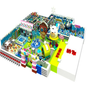 Cheer Amusement Children Snow Themed Indoor Playground Equipment pictures & photos