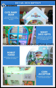 Indoor Playground Coin Operated Toy Claw Machine Crane Game Machine pictures & photos