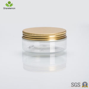 100ml Plastic Cream Jar with Aluminum Lids pictures & photos