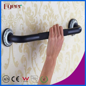 Fyeer Black Bathroom Accessory Brass Handrail Antislip Safety Grab Bars pictures & photos