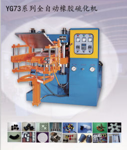 Four Columns Full-Automatic Vulcanizing Hydraulic Press Machine pictures & photos