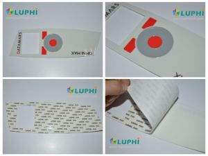 Rim Embossed Button Membrane Graphic Overlay Silk Screen Printing pictures & photos