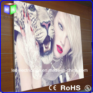 "24""X36"" LED Light Box Aluminium Frame LED Slim Light Box (2800) pictures & photos"