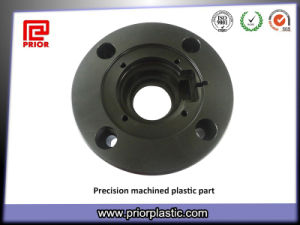 UHMWPE Precision Parts Made by CNC Lathe Machine pictures & photos
