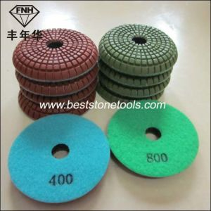 Cp-3 Convex Polishing Pads Flat Hook & Loop pictures & photos