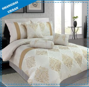 3 PCS Jacquard Bedding Duvet Cover (Set) pictures & photos