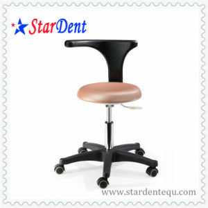 Dental Chair portable Dentist Stool (Pink) pictures & photos