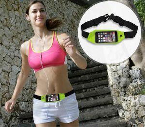 2016 Waterproof Running Sport Waist Bag Mobile Phone Pouch Wallet Case Belt Bag for iPhone 6 6s Plus for Samsung