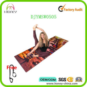 Machine Washable Yoga Mat for Hot Yoga Microfiber Yoga Mat pictures & photos