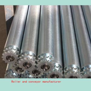 Steel Sprocket Roller Conveyor Roller pictures & photos