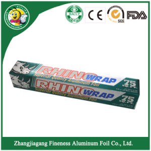 High Quality of Household Aluminum Foil Roll pictures & photos