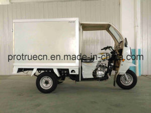 Three Wheel Tricycle with Closed Box pictures & photos
