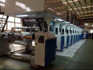 Rotogravure Printing Machine with Electronic Shaft Drive of 250m/Min pictures & photos