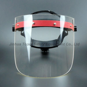 Adjustable Suspension Acrylic Visor Face Shield (FS4010) pictures & photos