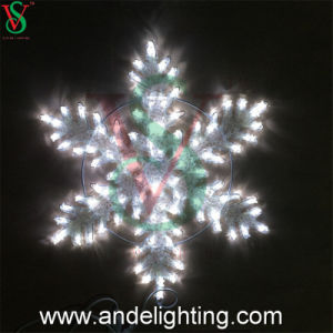 2016 New Commercial Rope Motif Snowflake Christmas Lights pictures & photos