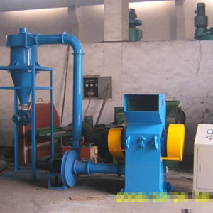 CE Approved Rubber Scraps Crusher for Rubber Granules
