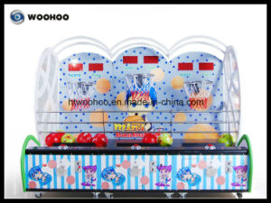 Amusement Park Kids Basketball Coin Operated Machine Cager Machine pictures & photos
