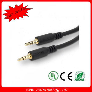 Auxiliary Aux 3.5mm Jack Male to Male Audio Cable pictures & photos