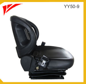 New Leather Forklift Seat with Suspension pictures & photos