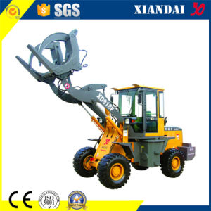 Wood Grab Machine 1.8t Wheel Loader for Sale pictures & photos