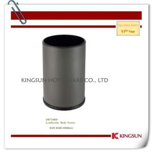 Indoor Waste Bin with Leather Body Db-734bd pictures & photos
